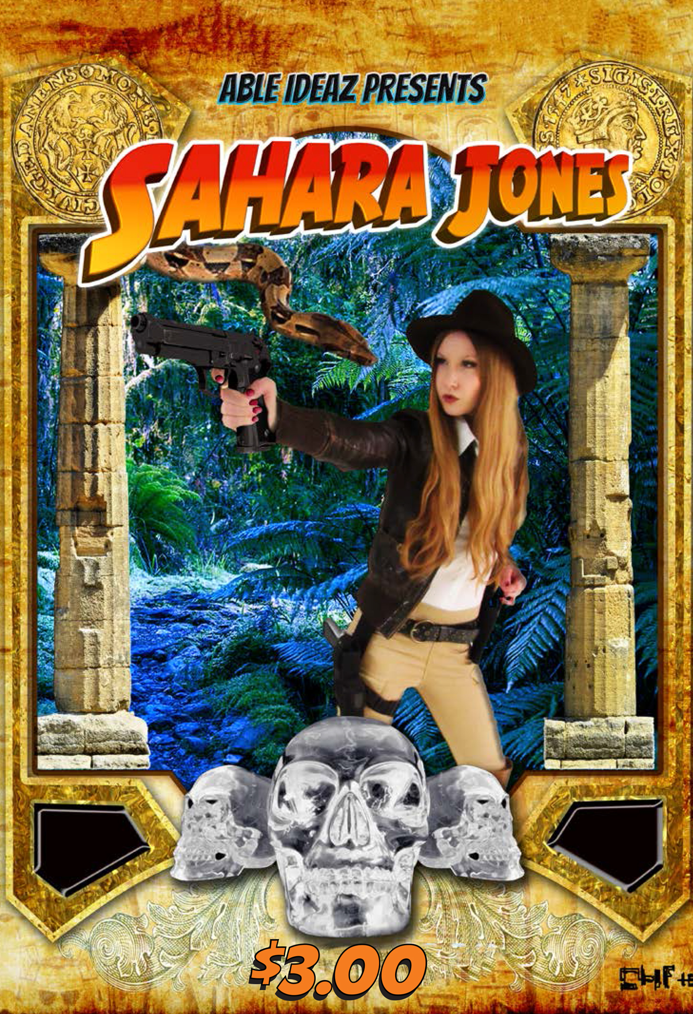 Sahara Jones #1