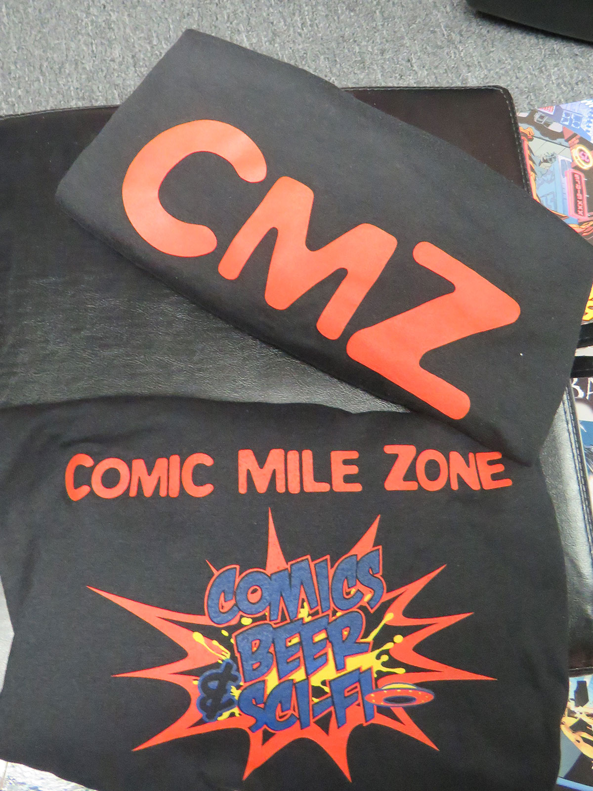 CMZ the Comic Mile Zone Shirt